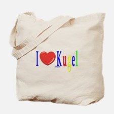 I Love Kugel Funny Jewish Tote Bag