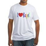 I Love Kugel Funny Jewish Fitted T-Shirt