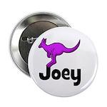 "Joey - Kangaroo 2.25"" Button"