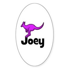 Joey - Kangaroo Oval Decal