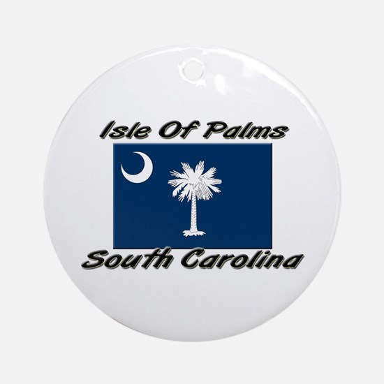 Isle of Palms South Carolina Ornament (Round)