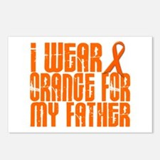I Wear Orange For My Father 16 Postcards (Package