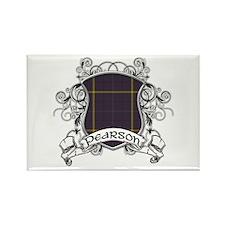 Pearson Tartan Shield Rectangle Magnet
