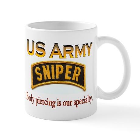 US Army snpr - piercing 1 T Mugs