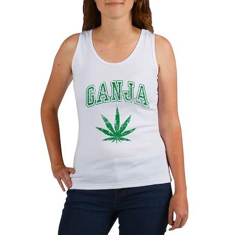 Ganja Weed Women's Tank Top