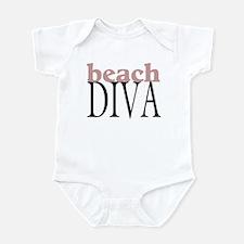 Beach Diva Infant Bodysuit