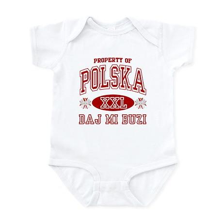 Polska Daj Mi Buzi Infant Bodysuit