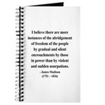 James Madison 8 Journal
