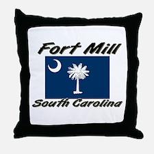 Fort Mill South Carolina Throw Pillow