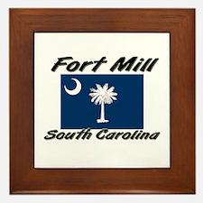 Fort Mill South Carolina Framed Tile