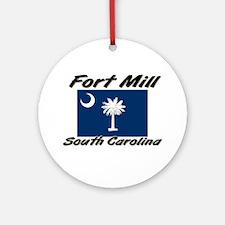 Fort Mill South Carolina Ornament (Round)