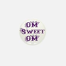 OM sweet OM Mini Button