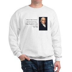 James Madison 11 Sweatshirt