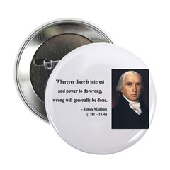 "James Madison 11 2.25"" Button (100 pack)"