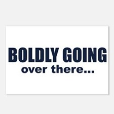 Boldly Going Over There Postcards (Package of 8)