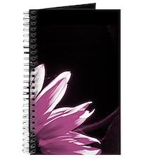 Pink Corner Sunflower Journal