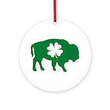 Buffalo Clover Ornament (Round)