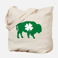 Buffalo Clover Tote Bag