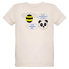 Bee & Panda Attitude/Humor T-Shirt