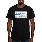 SUPERSTAR LOADING... Men's Fitted T-Shirt (dark)