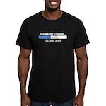 BRAIN FART LOADING... Men's Fitted T-Shirt (dark)
