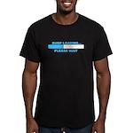 BURP LOADING... Men's Fitted T-Shirt (dark)