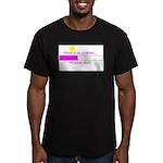 PRINCESS LOADING... Men's Fitted T-Shirt (dark)
