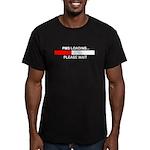 PMS LOADING... Men's Fitted T-Shirt (dark)