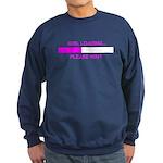 GIRL LOADING... Sweatshirt (dark)