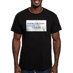 GRANDMA-TO-BE Men's Fitted T-Shirt (dark)