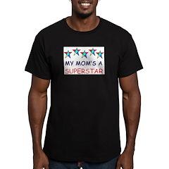 SUPERSTAR MOM Men's Fitted T-Shirt (dark)