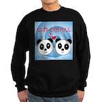 LET'S CUDDLE Sweatshirt (dark)