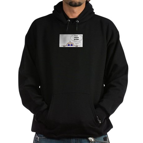 STUPID PEOPLE Hoodie (dark)