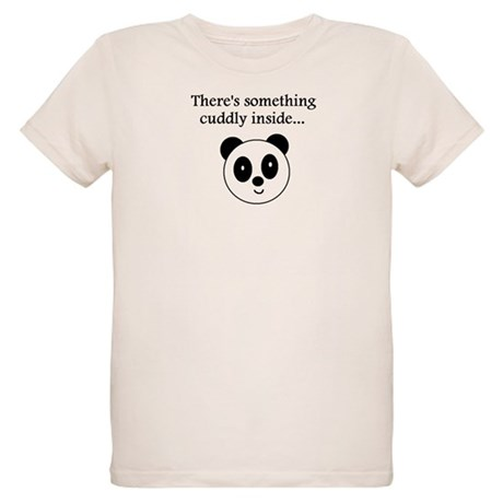 THERE'S SOMETHING CUDDLY INSI Organic Kids T-Shirt