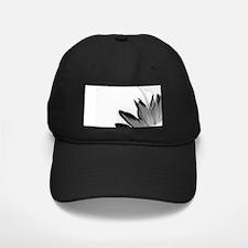 B&W Neg Corner Sunflower Baseball Hat
