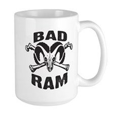 Black Bad Ram Mug