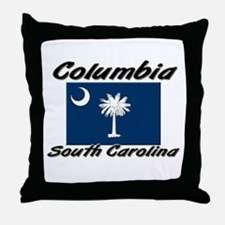 Columbia South Carolina Throw Pillow