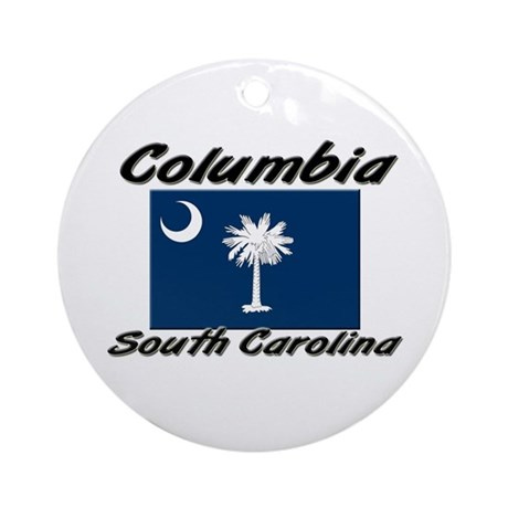 Columbia South Carolina Ornament (Round)