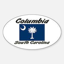 Columbia South Carolina Oval Decal