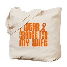 I Wear Orange For My Wife 16 Tote Bag