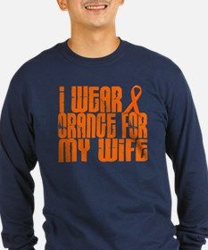I Wear Orange For My Wife 16 T