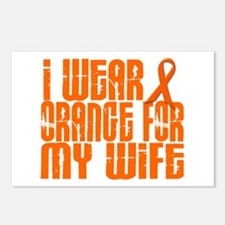 I Wear Orange For My Wife 16 Postcards (Package of