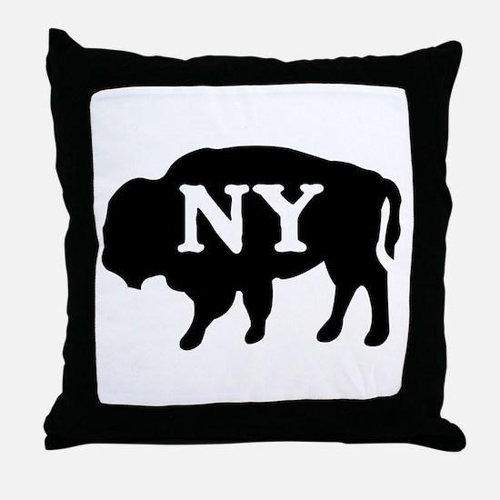 Buffalo New York Throw Pillow