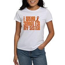 I Wear Orange For My Sister 16 Tee