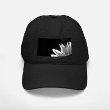 Black & White C Sunflower Baseball Hat