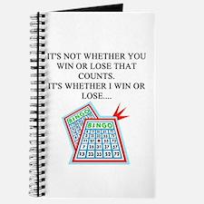 funny bingo joke Journal