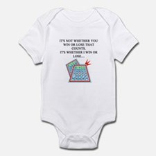 funny bingo joke Infant Bodysuit