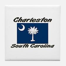 Charleston South Carolina Tile Coaster