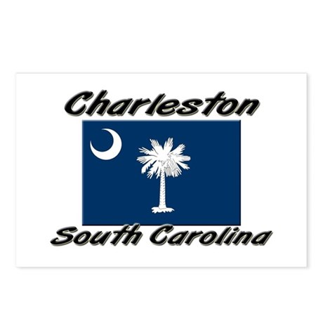 Charleston South Carolina Postcards (Package of 8)