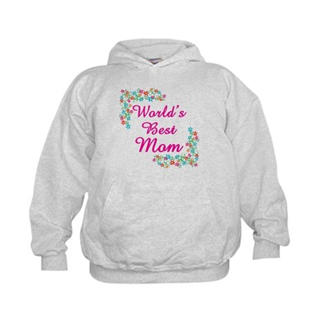 World's Best Mom Kids Hoodie